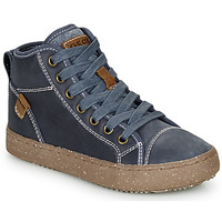 Shoes Boy High top trainers Geox J ALONISSO BOY Blue