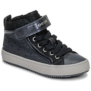 Shoes Girl High top trainers Geox J KALISPERA GIRL Blue