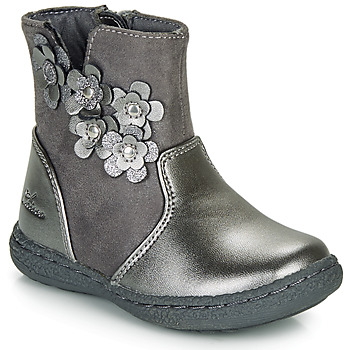 Shoes Girl Boots Chicco CINEY Grey