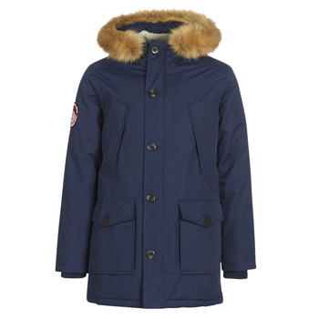 material Men Parkas Superdry EVEREST PARKA Marine