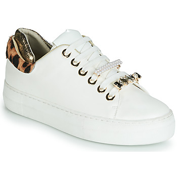 Shoes Women Low top trainers Elue par nous FINECO White