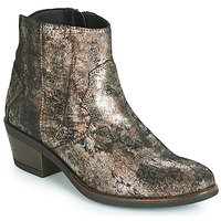 Shoes Women Mid boots Elue par nous FLO Bronze