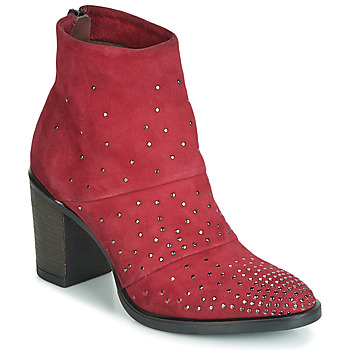 Shoes Women Ankle boots Metamorf'Ose FALCAO Red