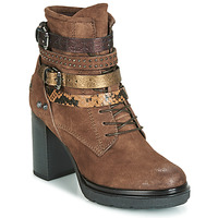 Shoes Women Ankle boots Metamorf'Ose FALENCIA Camel