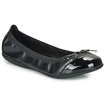 Shoes Women Ballerinas Chattawak CAPRICE Black