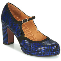 Shoes Women Court shoes Chie Mihara JOLY Blue / Black