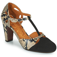 Shoes Women Court shoes Chie Mihara KUNA Black / Beige
