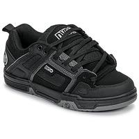 Shoes Men Low top trainers DVS COMANCHE Black