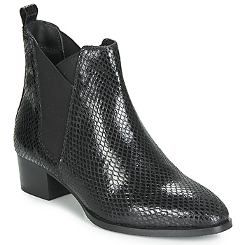 Shoes Women Ankle boots Ravel LOBURN Black