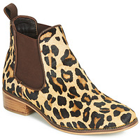 Shoes Women Mid boots Ravel GISBORNE Leopard