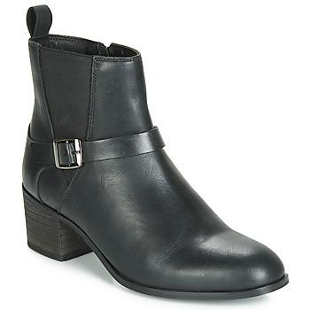 Shoes Women Ankle boots Ravel KINGSLEY Black