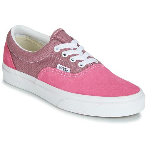 Shoes Women Low top trainers Vans ERA Pink