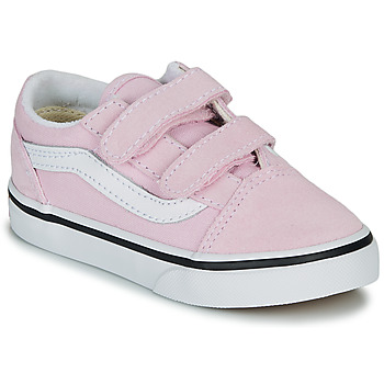 Shoes Girl Low top trainers Vans TD OLD SKOOL V Pink