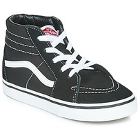 Shoes Children High top trainers Vans TD SK8-HI Black / White