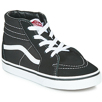 Shoes Children High top trainers Vans TD SK8-HI Black / White