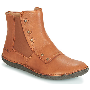 Shoes Women Mid boots Kickers HAPPLI Camel