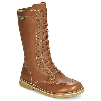 Shoes Women Boots Kickers MEETKIKNEW Camel