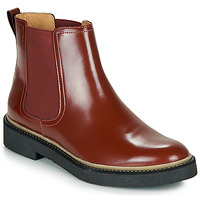 Shoes Women Mid boots Kickers OXFORDCHIC Red / Dark