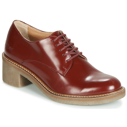 Shoes Women Derby shoes Kickers OXYBY Red