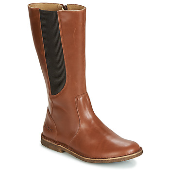 Shoes Women Boots Kickers TAKIKO Brown