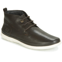 Shoes Men Mid boots Kickers LAYTON Brown / Dark