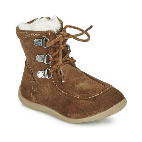 Shoes Children Boots Kickers BAMARA Camel