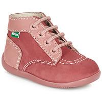 Shoes Girl Mid boots Kickers BONBON Pink