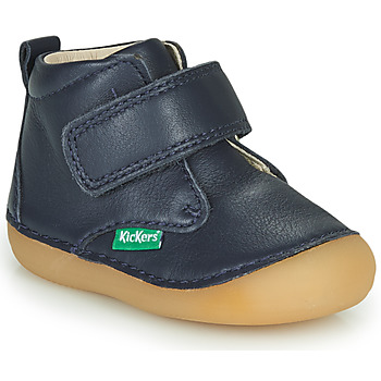 Shoes Boy Mid boots Kickers SABIO Marine