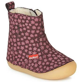 Shoes Girl Boots Kickers SOCOOL Bordeaux