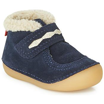 Shoes Children Mid boots Kickers SOETNIC Marine