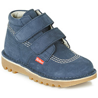 Shoes Boy Mid boots Kickers NEOVELCRO Marine