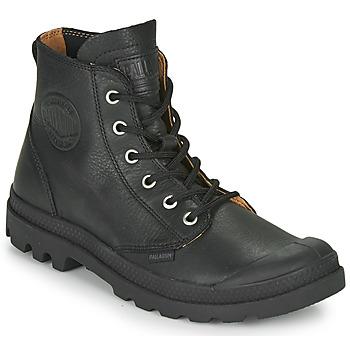 Shoes Mid boots Palladium PAMPA HI LTH UL Black