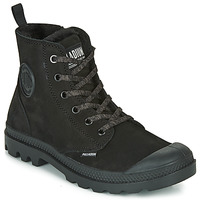 Shoes Women Mid boots Palladium PAMPA HI ZIP WL Black