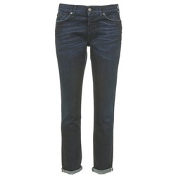 material Women slim jeans 7 for all Mankind JOSEFINA Blue / Dark