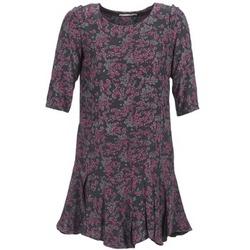 material Women Short Dresses See U Soon BOETICO Black / Violet