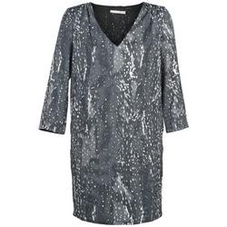 material Women Short Dresses See U Soon BELDONT Grey