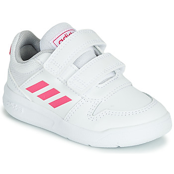 Shoes Girl Low top trainers adidas Performance VECTOR I White / Pink