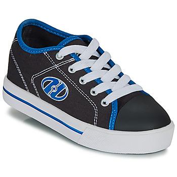 Shoes Boy Wheeled shoes Heelys CLASSIC X2 Black / White / Blue