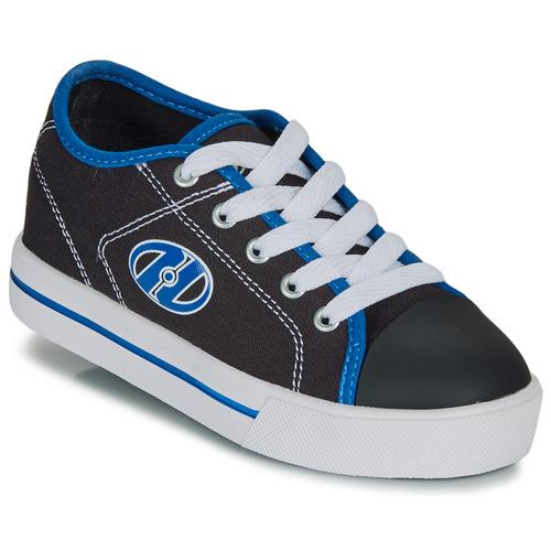 Heelys X2 Classic Black//White//Blue