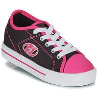 Shoes Girl Wheeled shoes Heelys CLASSIC X2 Black / Pink