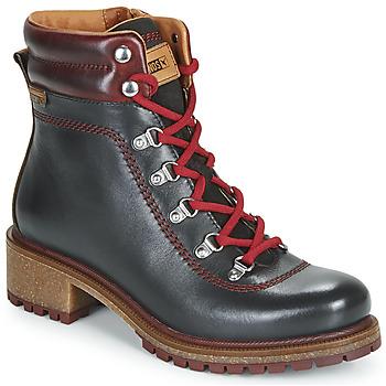 Shoes Women Mid boots Pikolinos ASPE W9Z Black