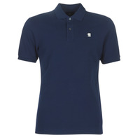 material Men short-sleeved polo shirts G-Star Raw DUNDA SLIM POLO Blue