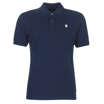 material Men short-sleeved polo shirts G-Star Raw DUNDA SLIM POLO Blue