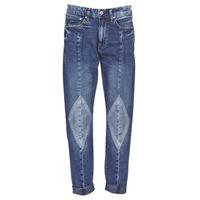 material Women Boyfriend jeans G-Star Raw 3301-L MID BOYFRIEND DIAMOND Blue / Light / Vintage / Aged