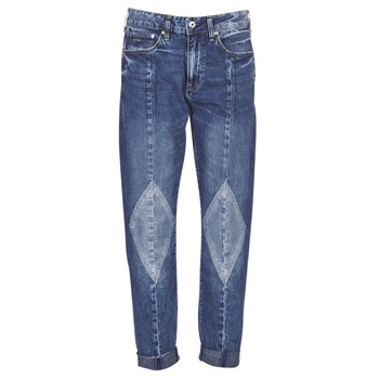 material Women Boyfriend jeans G-Star Raw 3301-L MID BOYFRIEND DIAMOND Blue / Light / Vintage / Aged