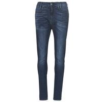 material Women slim jeans G-Star Raw D-STAQ MID BOY SLIM Blue / Faded / Medium / Aged