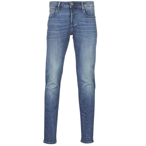 material Men slim jeans G-Star Raw 3301 SLIM Blue / Vintage / Medium / Aged