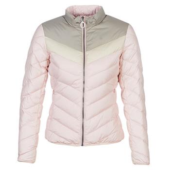 material Women Duffel coats G-Star Raw ALASKA PDD DOWN JKT WMN Pink / Beige