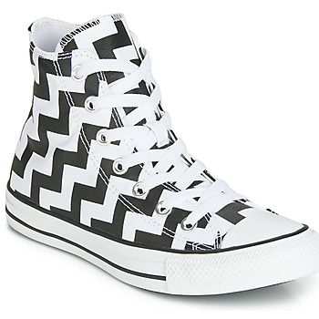 Shoes Women High top trainers Converse CHUCK TAYLOR ALL STAR GLAM DUNK CANVAS HI Black / White