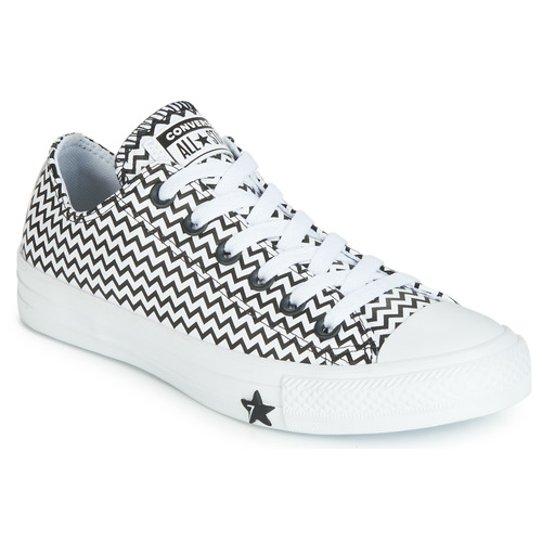 Converse All Star OX White Womens Low Top Trainers Sneakers
